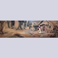 Original Walt Disney Pan Limited Edition Cel from Snow White and the Seven Dwarfs