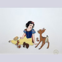 Original Walt Disney Sericel from Snow White and the Seven Dwarfs
