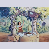 Original Walt Disney Limited Edition Cel from Snow White