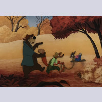 Disney Animation Art Limited Edition Cel From Song of the South
