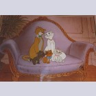 Original Walt Disney Limited Edition Cel from The Aristocats
