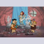 Original Hanna Barbera Limited Edition Cel, Art Class