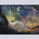 Original Walt Disney Production Cel from Bambi