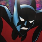 Original Warner Brothers Batman Limited Edition Fine Art Print, Batman Beyond