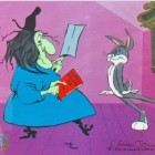 Warner Brothers Limited Edition Cel Rabbit Recipes Bugs Bunny