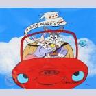 "Original Warner Brothers Limited Edition Cel ""Bugs & Bride IV"" featuring Bugs Bunny"