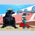 Warner Brothers Limited Edition Cel, Bugs and Bull II