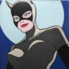 Original Warner Brothers Batman Limited Edition Lithograph, Catwoman