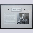 Framed Chuck Jones Commemorative Photo and Biography