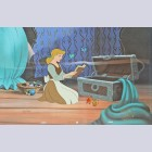 """Disney Animation Art Limited Edition """"Preparing for the Ball"""""""