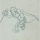 Original Walt Disney Production Drawing from Parade of the Award Nominees (1935) featuring Dr. Jeckyll
