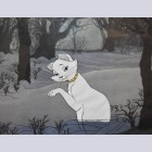 Original Walt Disney Production Cel from The Aristocats featuring Duchess
