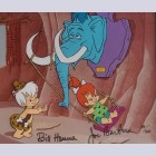 Original Hanna Barbera Flintstones Limited Edition Cel, Swing Set