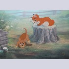Original Walt Disney The Fox and the Hound Limited Edition Cel