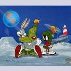 Original Warner Brothers Limited Edition Cel, Hare's Best Friend