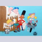 Original Hey Arnold! Production Cel made for The Big Help special