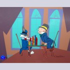 Warner Brothers Limited Edition Cel, High Rolling Rabbit