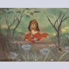 Disney Animation Art Limited Edition Cel from The Fox and The Hound