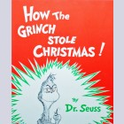 Original Chuck Jones Limited Edition Lithograph, How the Grinch Stole Christmas Book Cover