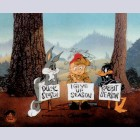 Warner Brothers Limited Edition Cel, I Give Up Season