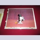 Original Peanuts Production Cel of Snoopy and Woodstock from Snoopy the Musical (1988)