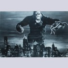 King Kong print with Signature of Fay Wray