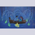 Original Walt Disney The Little Mermaid Limited Edition Cel, Kiss the Girl