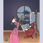 Original Warner Brothers Limited Edition Cel, La Boheme
