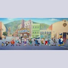 Original Warner Brothers Limited Edition Cel Looney Tunes on Parade