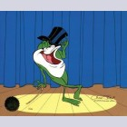 Original Warner Brothers Limited Edition Cel, Michigan J. Frog V