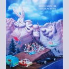 Hanna Barbera Limited Edition Lithograph Monumental Characters