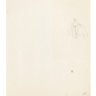 Original Walt Disney Production Drawing Featuring The Queen