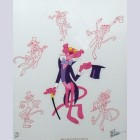 Original Pink Panther Limited Edition Cel Signed by Friz Freleng