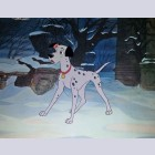 Original Walt Disney Production Cel from 101 Dalmatians featuring Pongo