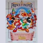 Disney Animation One-Sheet Movie Poster Featuring Prince and the Pauper