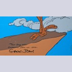 Original Warner Brothers Limited Edition Cel featuring Roadrunner