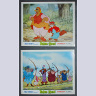 Original Walt Disney 2 Lobby Card set from Robin Hood