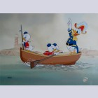 "Walt Disney Limited Edition Cel ""Sea Scouts"""
