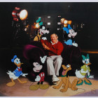 "Disney Animation Art Limited Edition Cel ""Roy Disney and Friends"""