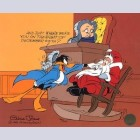 Warner Brothers Limited Edition Cel, Santa On Trial