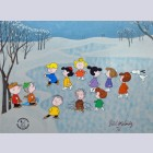 Original Peanuts Limited Edition Cel, Signed by Bill Melendez