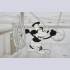 "Disney Animation Art Limited Edition Cel ""Mickey's Early Years: Steamboat Willie"""