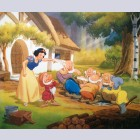 Original Snow White Lithograph, Snow White's Last Call for Dinner, Signed By Frank Thomas And Ollie Johnston