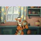 Original Walt Disney Production Cel from Winnie the Pooh and the Blustery Day (1968) featuring Tigger