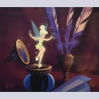 Walt Disney Art Limited Edition Cel, Miss Bell at The Inkwell