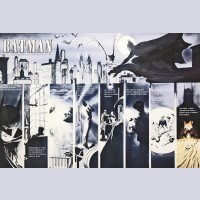 Original Warner Brothers Batman Limited Edition Fine Art Print, Batman: War on Crime, Signed by Paul Dini and Alex Ross