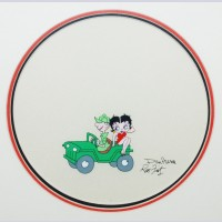 Original Betty Boop Production Cel