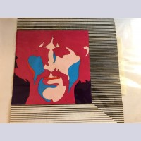 Original Beatles Production Cel From Yellow Submarine featuring George