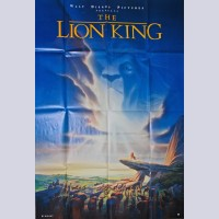 Disney Animation Large One-Sheet Movie Poster from The Lion King