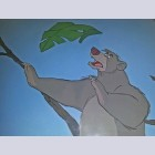 Disney Animation Production Cel featuring Baloo
